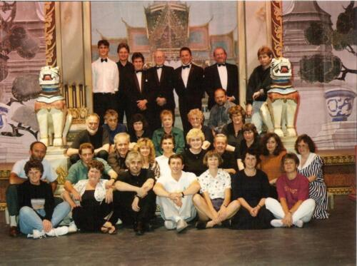 1992 King and I Crew