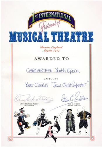 1997 Buxton Award