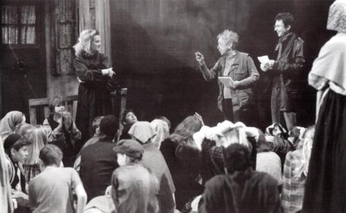 2003 Fiddler on the Roof Rehearsals